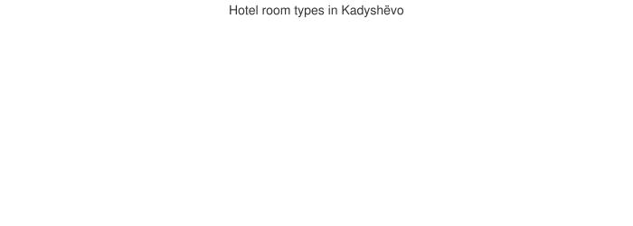 Hotel room types in Kadyshëvo