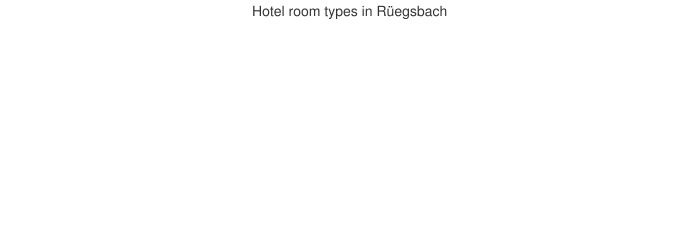 Hotel room types in Rüegsbach
