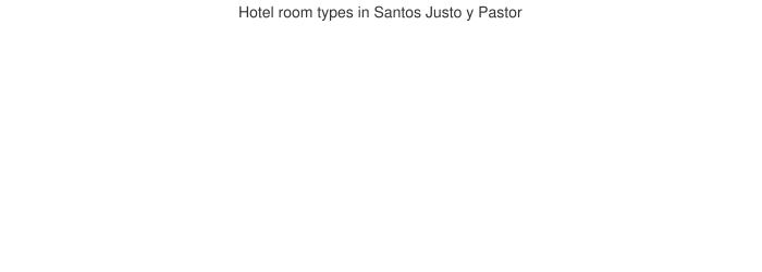 Hotel room types in Santos Justo y Pastor