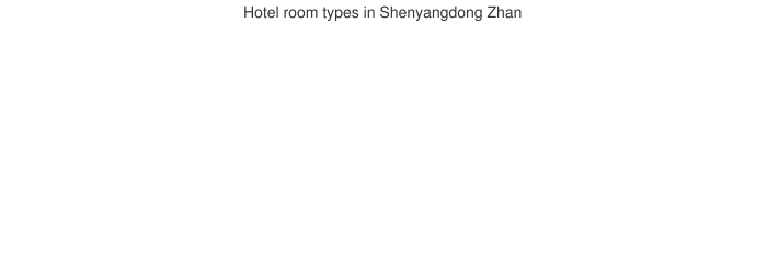 Hotel room types in Shenyangdong Zhan