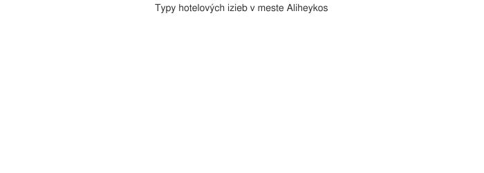 Typy hotelových izieb v meste Aliheykos