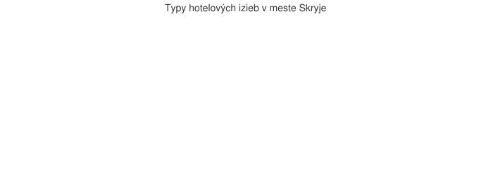 Typy hotelových izieb v meste Skryje