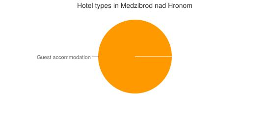 Hotel types in Medzibrod nad Hronom