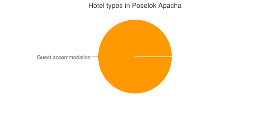 Hotel types in Poselok Apacha