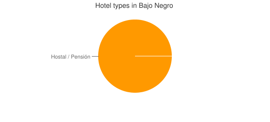 Hotel types in Bajo Negro