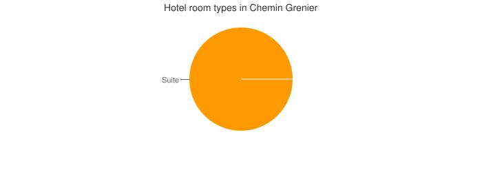 Hotel room types in Chemin Grenier