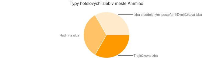 Typy hotelových izieb v meste Ammiad