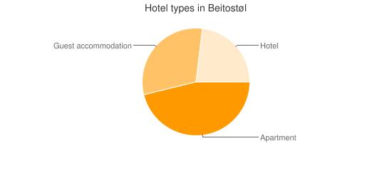 Hotel types in Beitostøl