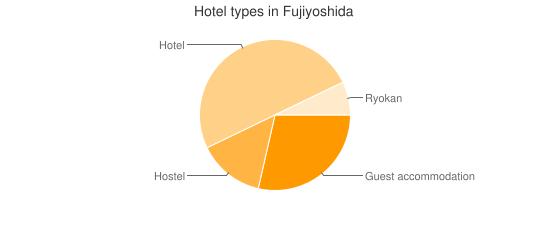 Hotel types in Fujiyoshida