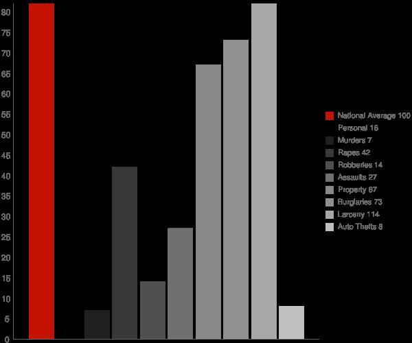 University MS Crime Statistics