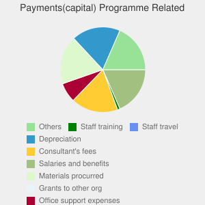 Payments(revenue) Programme Related