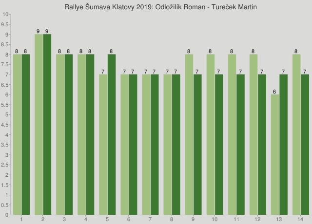 Rallye Šumava Klatovy 2019: Odložilík Roman - Tureček Martin