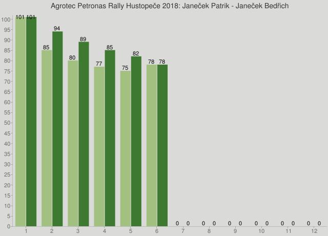 Agrotec Petronas Rally Hustopeče 2018: Janeček Patrik - Janeček Bedřich