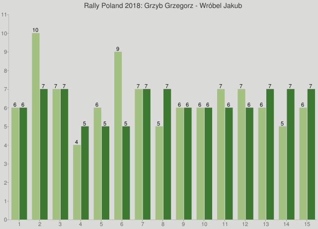 Rally Poland 2018: Grzyb Grzegorz - Wróbel Jakub