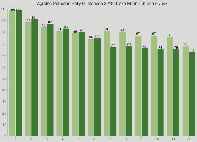 Agrotec Petronas Rally Hustopeče 2018: Liška Milan - Středa Hynek
