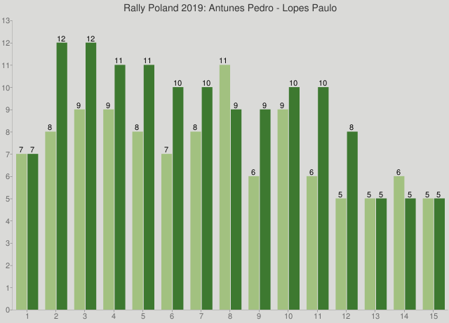 Rally Poland 2019: Antunes Pedro - Lopes Paulo