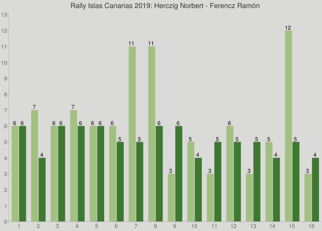 Rally Islas Canarias 2019: Herczig Norbert - Ferencz Ramón