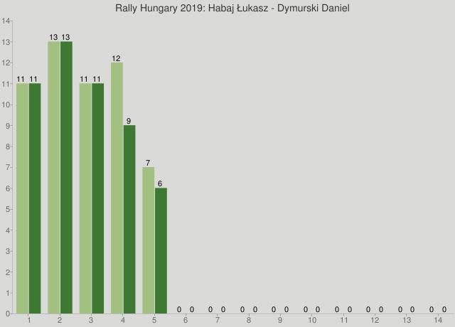 Rally Hungary 2019: Habaj Łukasz - Dymurski Daniel