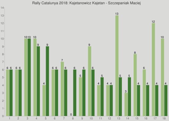 Rally Catalunya 2018: Kajetanowicz Kajetan - Szczepaniak Maciej