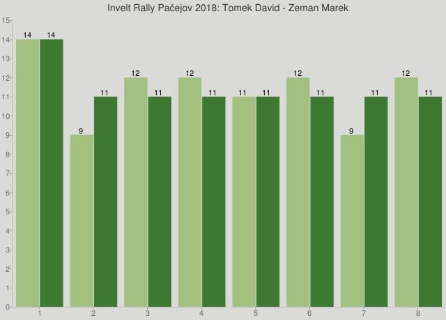 Invelt Rally Pačejov 2018: Tomek David - Zeman Marek