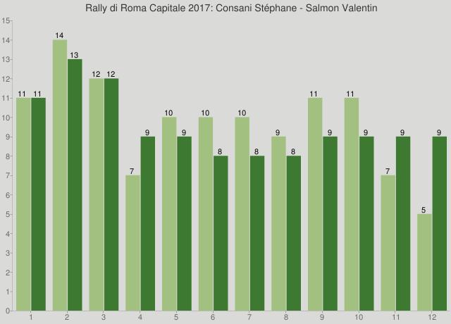 Rally di Roma Capitale 2017: Consani Stéphane - Salmon Valentin
