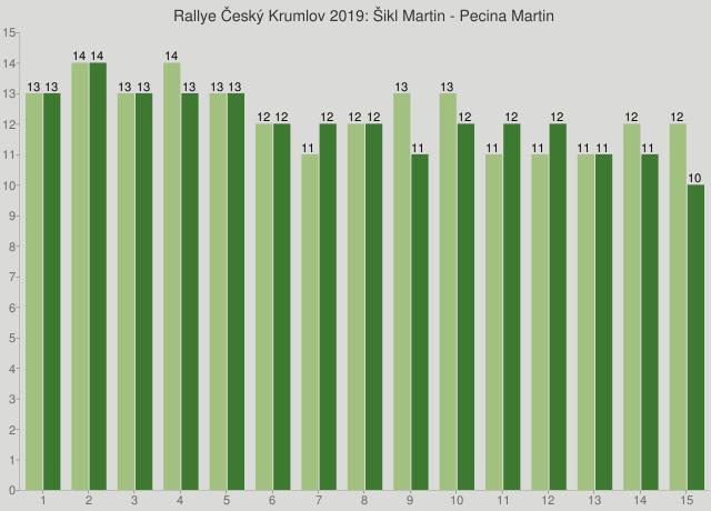 Rallye Český Krumlov 2019: Šikl Martin - Pecina Martin