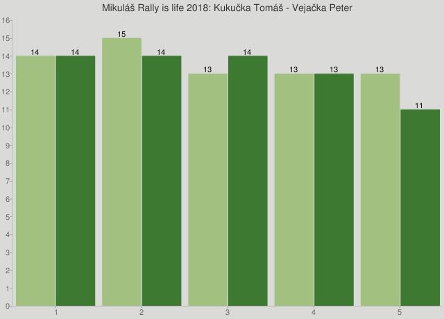 Mikuláš Rally is life 2018: Kukučka Tomáš - Vejačka Peter