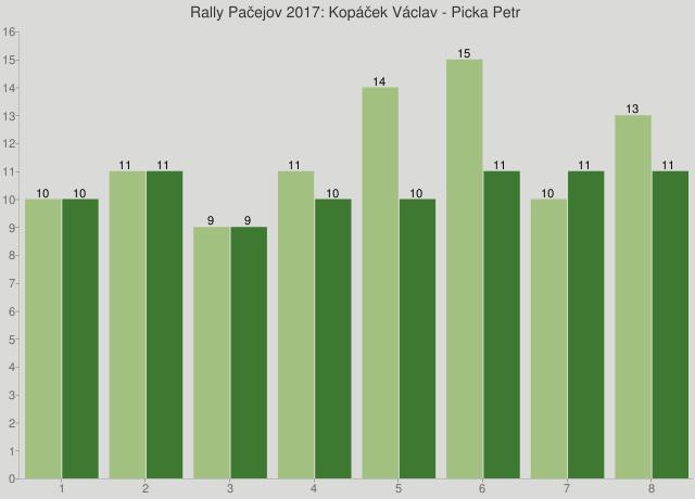 Rally Pačejov 2017: Kopáček Václav - Picka Petr
