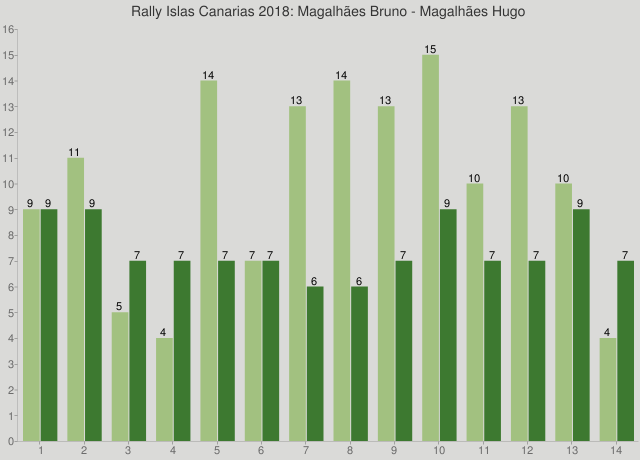 Rally Islas Canarias 2018: Magalhães Bruno - Magalhães Hugo