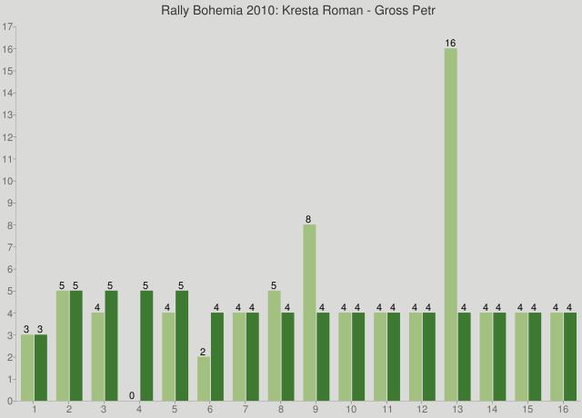 Rally Bohemia 2010: Kresta Roman - Gross Petr