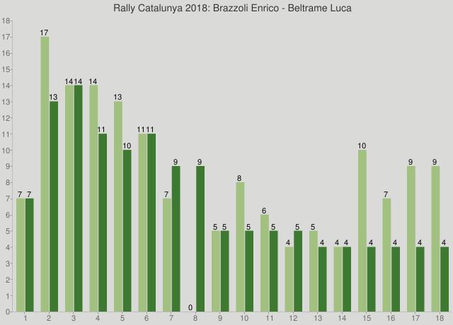 Rally Catalunya 2018: Brazzoli Enrico - Beltrame Luca