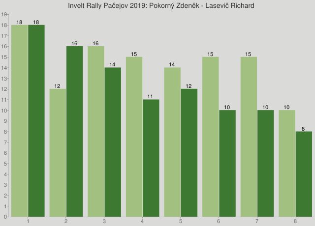 Invelt Rally Pačejov 2019: Pokorný Zdeněk - Lasevič Richard