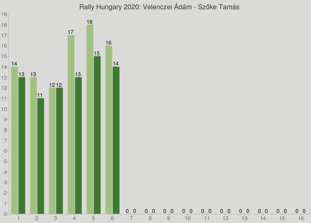 Rally Hungary 2020: Velenczei Ádám - Szőke Tamás