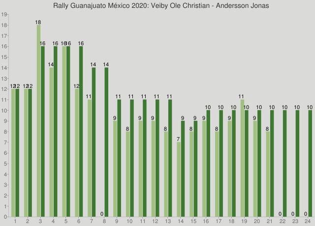 Rally Guanajuato México 2020: Veiby Ole Christian - Andersson Jonas