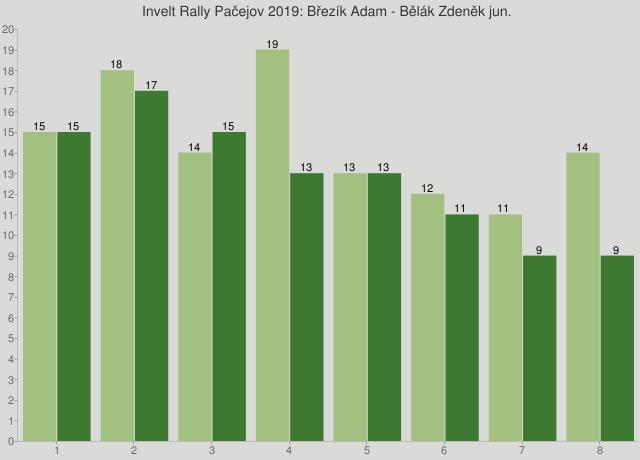 Invelt Rally Pačejov 2019: Březík Adam - Bělák Zdeněk jun.