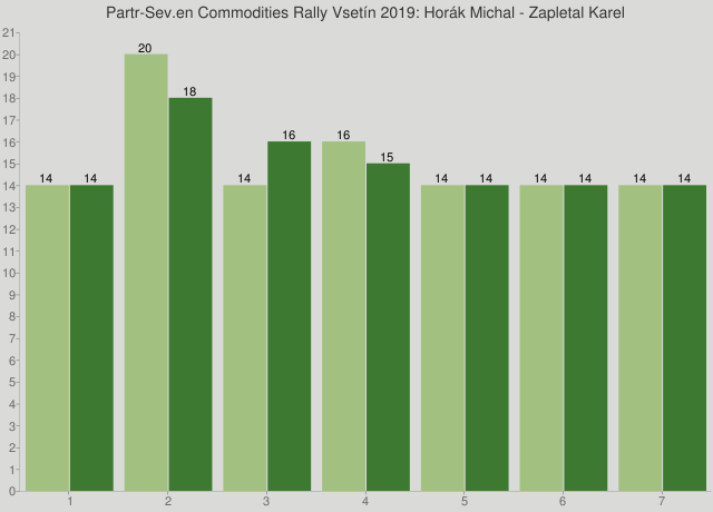Partr-Sev.en Commodities Rally Vsetín 2019: Horák Michal - Zapletal Karel