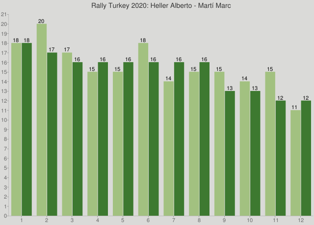 Rally Turkey 2020: Heller Alberto - Martí Marc