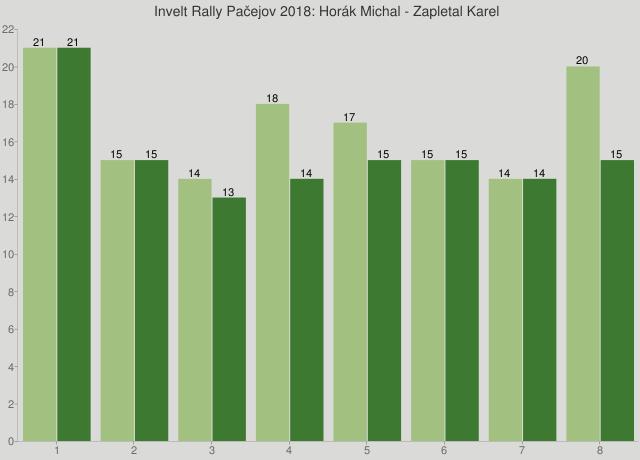 Invelt Rally Pačejov 2018: Horák Michal - Zapletal Karel