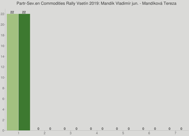 Partr-Sev.en Commodities Rally Vsetín 2019: Mandík Vladimír jun. - Mandíková Tereza