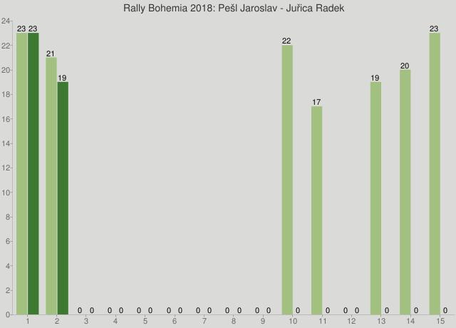 Rally Bohemia 2018: Pešl Jaroslav - Juřica Radek