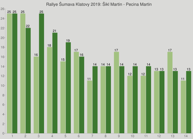 Rallye Šumava Klatovy 2019: Šikl Martin - Pecina Martin