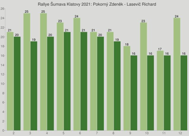 Rallye Šumava Klatovy 2021: Pokorný Zdeněk - Lasevič Richard