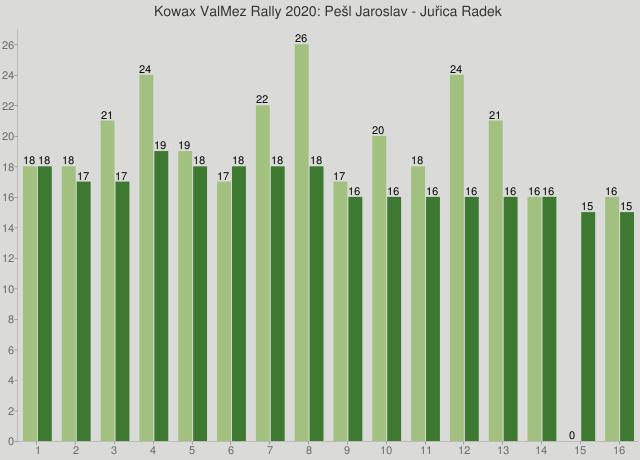 Kowax ValMez Rally 2020: Pešl Jaroslav - Juřica Radek