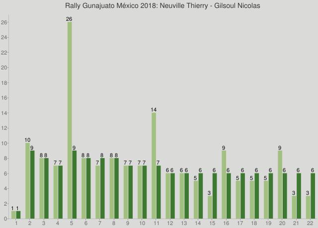 Rally Gunajuato México 2018: Neuville Thierry - Gilsoul Nicolas