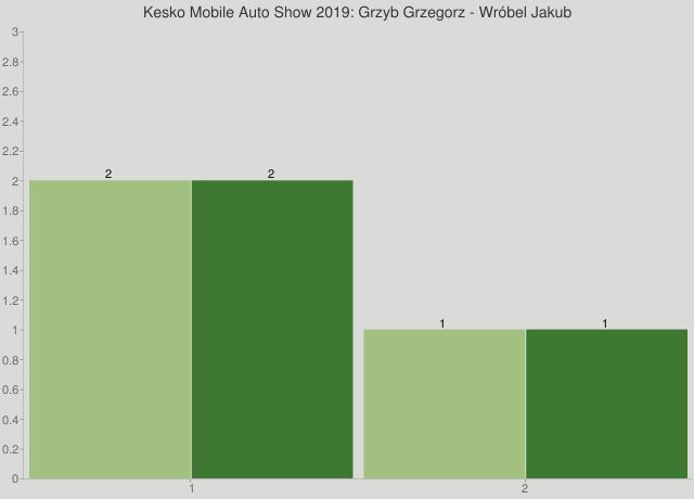 Kesko Mobile Auto Show 2019: Grzyb Grzegorz - Wróbel Jakub