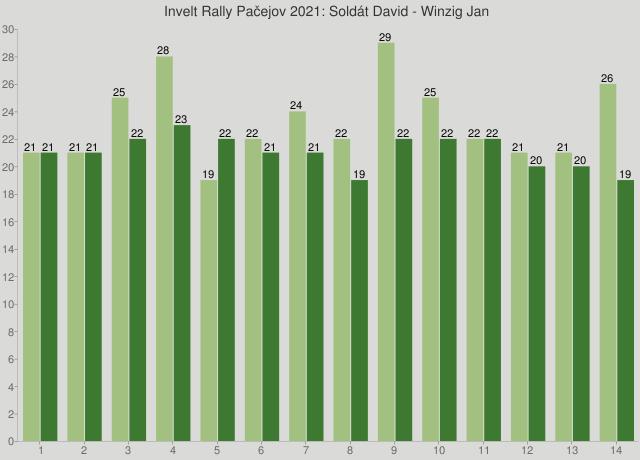 Invelt Rally Pačejov 2021: Soldát David - Winzig Jan