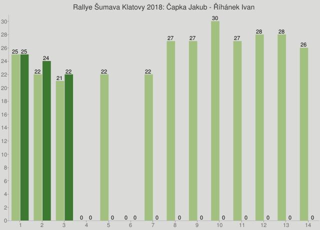 Rallye Šumava Klatovy 2018: Čapka Jakub - Říhánek Ivan