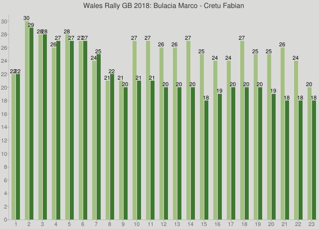 Wales Rally GB 2018: Bulacia Marco - Cretu Fabian