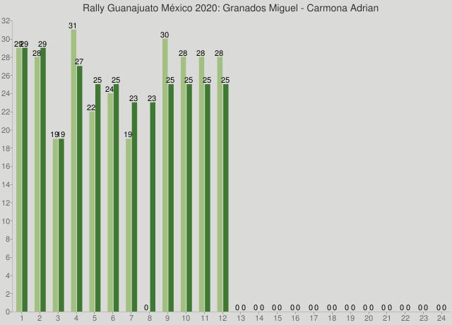 Rally Guanajuato México 2020: Granados Miguel - Carmona Adrian