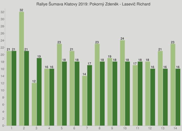 Rallye Šumava Klatovy 2019: Pokorný Zdeněk - Lasevič Richard